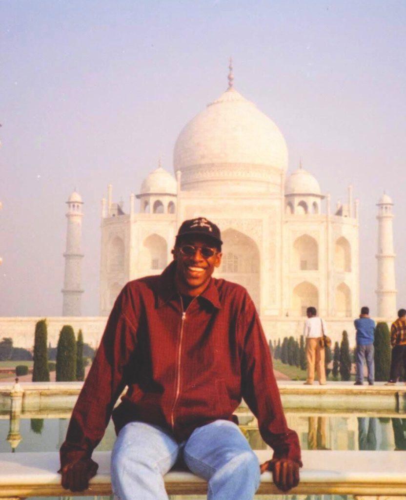 Taj Mahal Agra India 1997