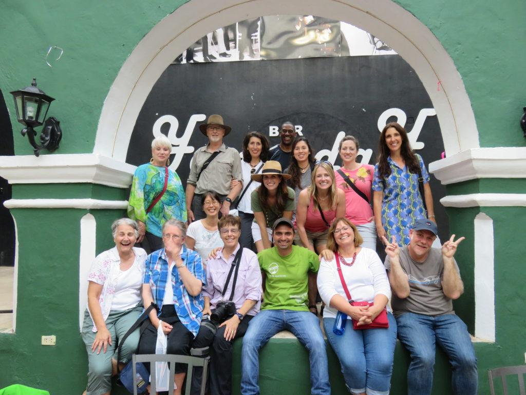 group photo in Cienfuegos Cuba