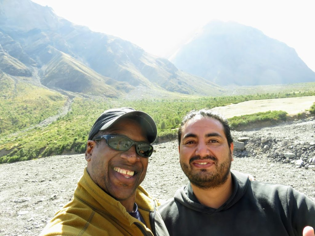 Me and Manu in the Andes