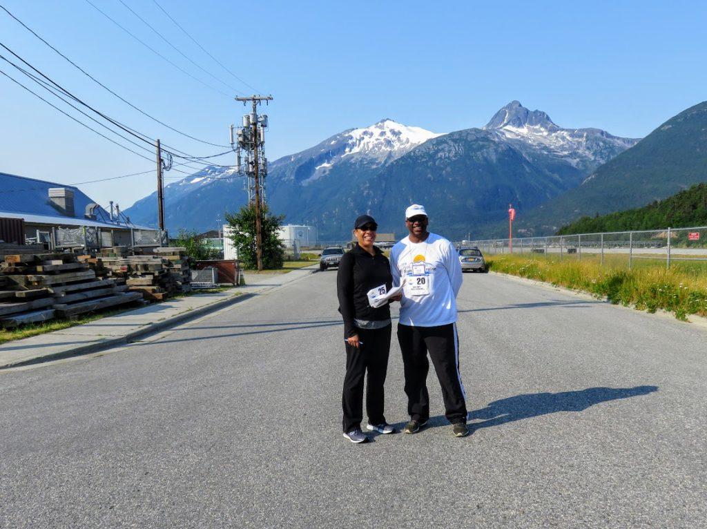 Me and T on the race alaska