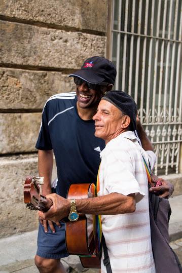 me and cuba musician guy havana