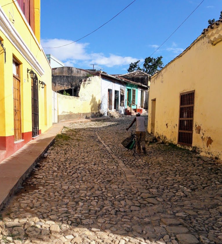 street in trinidad Cuba