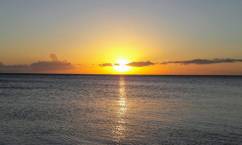 Sunset from Trinidad Cuba