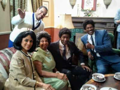 The cast of the Conan sketch Tyler Perry's House of Kennedy's