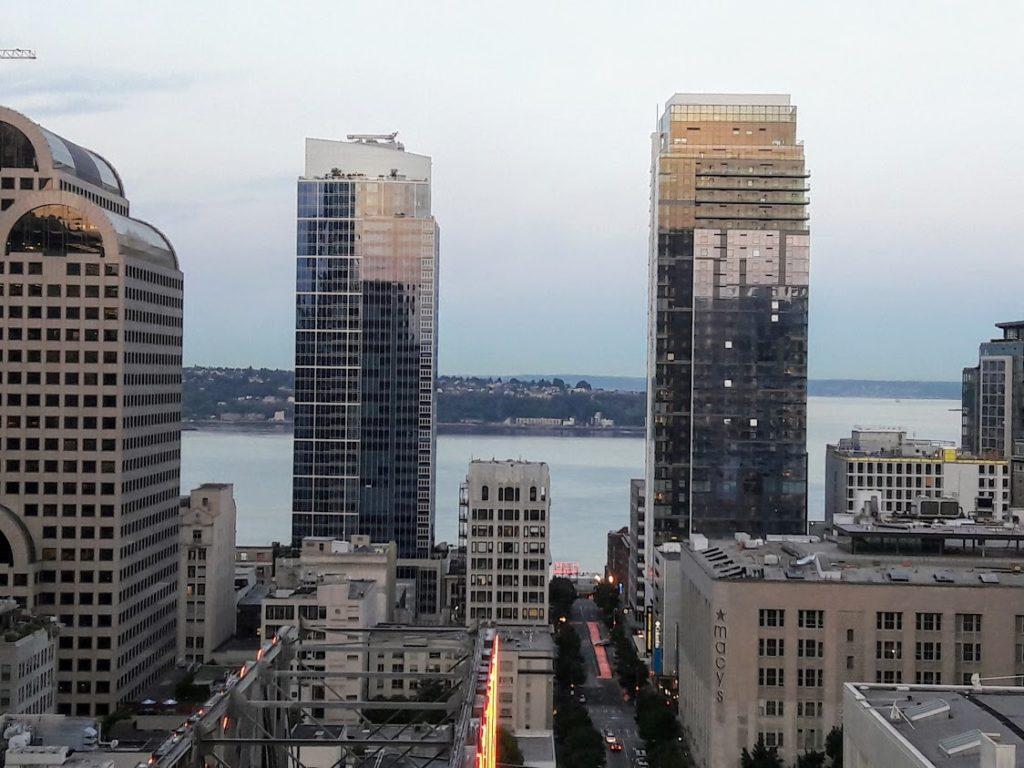 View from Grand Hyatt Seattle