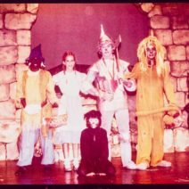 1st play the Wizard of Oz whittier junior theatre 1979