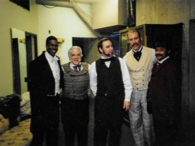 CB and the cast of Coming of the Hurricane Denver Center 1995