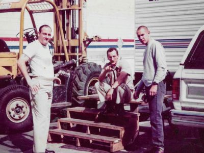 James G(RIP) Matt C and crew guy on the set of Crimson Tide Culver Studios 1994